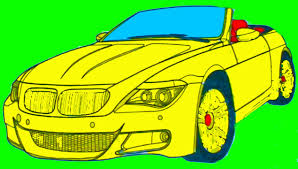 cars coloring pages kids colors coloring colored markers