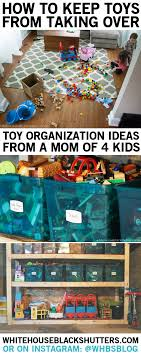 how to organize toys how to keep the toys from taking white house black shutters