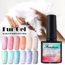 wholesale frenshion 10ml leopard fur gel nail polish uv led gel