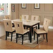 Dining Room Set by Marble Top Dining Room Sets Foter