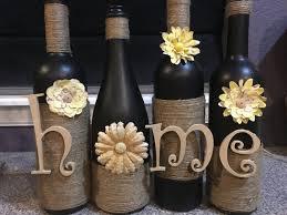 Home Decor Glass Home Wine Bottle Home Wine Bottles Home Decor Decoration