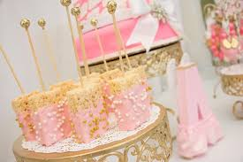 baby shower theme for girl thank heaven for baby shower via kara s party ideas