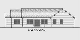 single level house plans one story house plans great room house