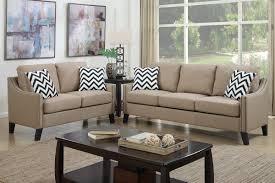couch and loveseat set amazon com poundex f6908 bobkona debora linen like 2 piece sofa