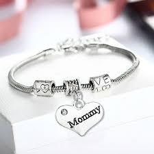 s day charm bracelet fashion bangle bracelet family gifts for