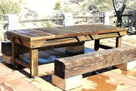 rustic outdoor furniture impressive dining table rustic patio