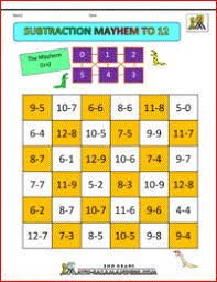2 digit subtraction worksheets