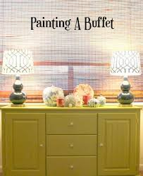 the painted buffet cozy little house