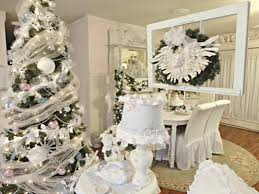 silver table top christmas decorations decorating ideas decoration