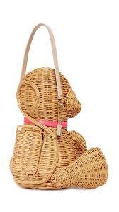 kate spade new york wicker monkey bag multi women bags totes