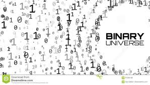 infinity number vector data flow visualization grayscale big data flow as binary