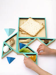 seder plate for sale tangram seder plate passover gift a playful and modular set of 7