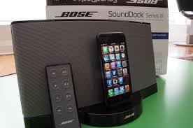 bose home theater dock bose sounddock 3 review and hands on youtube