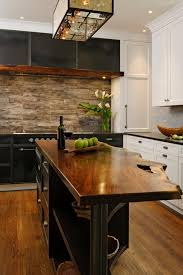 photos hgtv kitchen island with rustic live edge walnut countertop