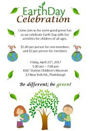 station children s museum join us and celebrate earth day