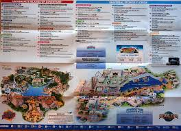 Universal Park Orlando Map by Universal Studios Orlando Park Hoursmaps Riders Guide Vacation