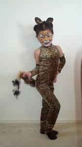 Kids Cheetah Halloween Costume Cheetah Costume Makeup