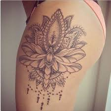 15 most alluring lotus tattoo designs to get inspired thighs