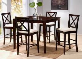 tall dining table and chairs tall table and chairs contemporary dinette decoration with dark