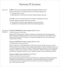network engineer resume resume of network engineer systems engineer resume network engineer
