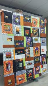halloween panel fabric june meeting recap madison modern quilt guild