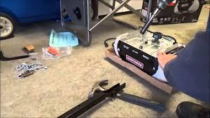 keychain garage door opener craftsman assemble craftsman chamberlain garage door opener youtube