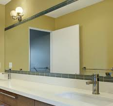 Framing An Existing Bathroom Mirror Tile Framing Master Bath Mirror Bathroom Pinterest Bath