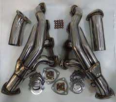 amazon com eurocharged e55 cls55 exhaust headers automotive