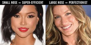 best hairstyles for a large nose what nose shape do you have 19 different nose shapes