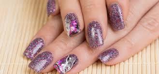 diy u2013 easy glitter nail arts
