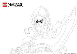 Coloriages Ninjago A Imprimer Epee A Epee A Coloriage Ninjago Rouge