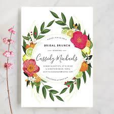 brunch bridal shower invites citrus brunch bridal shower invitations by susan moyal minted