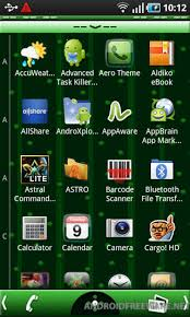 themes for android phones aero theme free apk android app android freeware