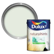 dulux luxurious jade white silk emulsion paint 5l departments