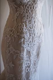 steven khalil custom made wedding dress on sale