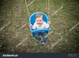 portrait baby backyard swing stock photo 441740467 shutterstock