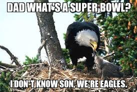 Funny Eagles Meme - dad what s a super bowl eagles meme weknowmemes