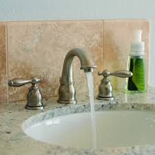 Widespread Bathroom Faucet Brushed Nickel Fontaine Marbella Widespread Bathroom Faucet Brushed Nickel