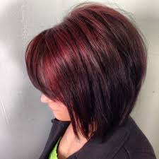 coke blowout hairstyle 5 ways cherry cola hair color can light your fire hairstylec