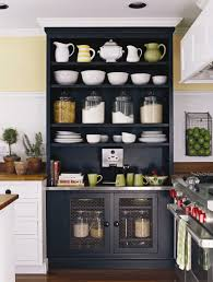Furniture Elegant Design Of Storage Needs With Freestanding - Black kitchen pantry cabinet