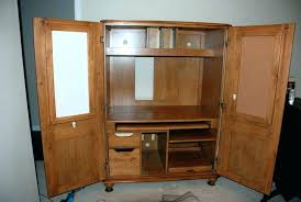 Computer Desk With Doors Corner Armoire Desk Large Size Of Corner Furniture With Pocket