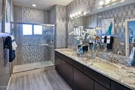 traditional master bathroom ideas traditional master bathroom with complex granite counters flush