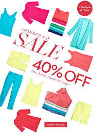 chicos sale chico s 40 tops shorts crops memorial day sale starts
