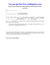 100 landlord to tenant notice letter 30 day eviction notice