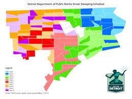 Detroit Zip Code Map Sweeping Map Jpg
