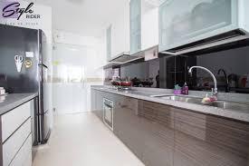 bto kitchen design ample kitchen storage at yishun