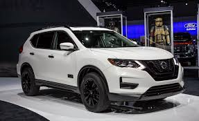 nissan pathfinder hybrid 2017 nissan u0027s rogue goes rogue er with star wars rogue one special