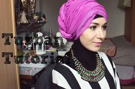 tutorial hijab nabiilabee turban tutorial l side up twist youtube