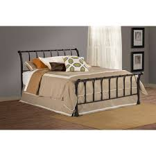 Bed Headboard And Footboard Janis Textured Black Queen Bed Headboard U0026 Footboard Only
