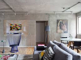 interior design soft soft industrial and masculine style apartment living room
